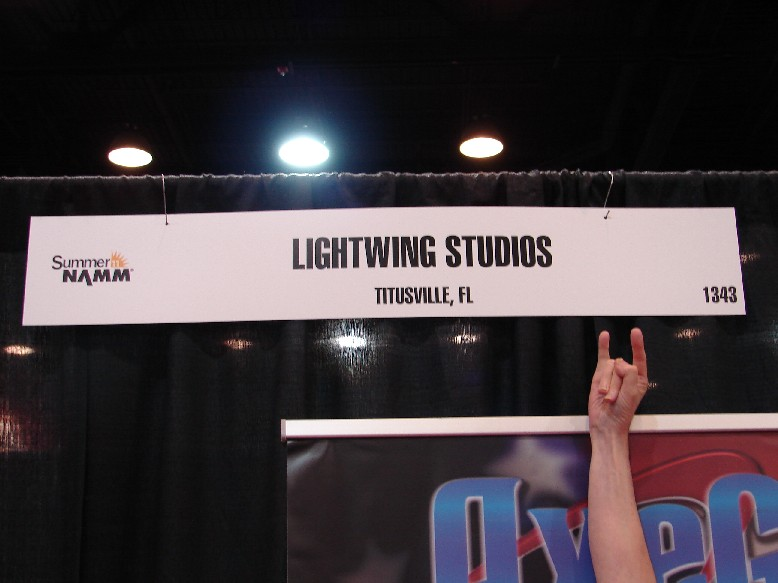 LightWing Studios ROCKS Summer NAMM